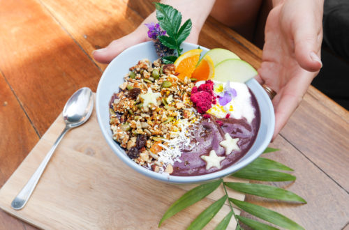 Vegan-friendly: Smoothie Bowl from The Cozy Corner